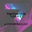 Significado da CASA 7  .  .  . a COOPERAÇÃO - Personalised Poster large