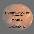 SIGNIFICADO do planeta MARTE .  .  . a ENERGIA - Personalised Poster large