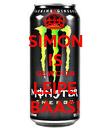 SIMON IS GEWOON LEIPE BAAS! - Personalised Poster large