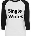Single  Woles    - Personalised Poster large