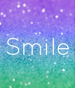 Smile - Personalised Poster large