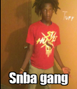 Snba gang - Personalised Poster large