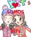 SOMOS    BFFs - Personalised Poster large
