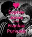 Sophie Jones Loves Frankie Puricelli - Personalised Poster large