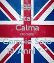 Stai  Calma Domani Compie Solo 19 Anni *-* - Personalised Poster large