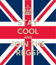 STAY COOL AND JOIN THE REGSF - Personalised Poster large