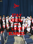 STAY COOL AND LOVE ELNINOS - Personalised Poster large