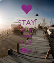 STAY FLY AND FLY HIGH - Personalised Poster large