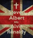Steven Albert Billy Alvin Renaldy - Personalised Poster large