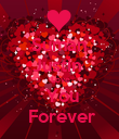 Suman Justin   Love  You  Forever - Personalised Poster large