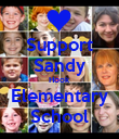 Support Sandy Hook Elementary School - Personalised Poster large
