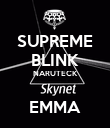 SUPREME BLINK NARUTECK  EMMA - Personalised Large Wall Decal