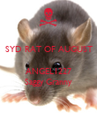 SYD RAT OF AUGUST   ANGEL1227 Saggy Granny - Personalised Poster large