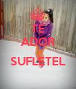 TE ADOR  SUFLETEL  - Personalised Poster large