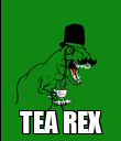 TEA REX - Personalised Poster large