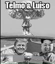 Telmo & Luiso  - Personalised Poster large