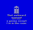 That awkward moment when I'd call you a genius except I'm in the room - Personalised Poster large