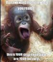 that awkward moment when you realize this is YOUR circus and those are YOUR monkeys - Personalised Poster large