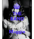 THE BAND   Maggie - Personalised Poster large