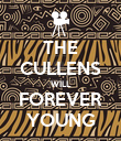 THE CULLENS WILL FOREVER YOUNG - Personalised Poster large