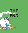 THE END    - Personalised Poster large