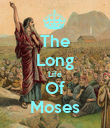 The Long Life Of Moses - Personalised Poster large