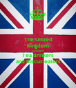 The United Kingdom a place of Tea drinkers and Biscuit eaters - Personalised Poster large