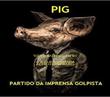 TODOS SÃO INOCENTES ATÉ QUE A IMPRENSA ACHE O CONTRÁRIO - Personalised Poster large