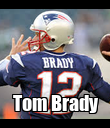 Tom Brady - Personalised Poster large