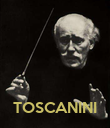 TOSCANINI - Personalised Poster large