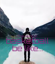 Traveling in basketball be like... - Personalised Poster large