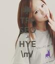 TRP SEO JI HYE \m/ - Personalised Poster large