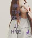 TRP SEO  JI HYE - Personalised Poster large