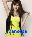 Vanessa - Personalised Poster large
