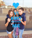 VI AMO ZOCCOLE MIE  - Personalised Poster large