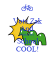 Vote Zak And  Make the  School COOL! - Personalised Poster large