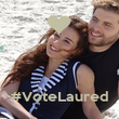 #VoteLaured - Personalised Poster large