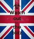 Watch out for the blitz - Personalised Large Wall Decal