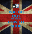 WATCH OUT JESS KNOWS HOW TO SHOP - Personalised Poster large