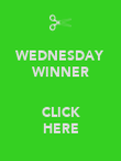 WEDNESDAY WINNER  CLICK HERE - Personalised Poster large