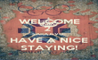 WELCOME 2  SARAJEVO! HAVE A NICE STAYING! - Personalised Poster large