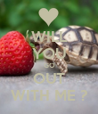 WILL YOU GO OUT WITH ME ? - Personalised Poster large