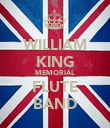 WILLIAM KING MEMORIAL FLUTE BAND - Personalised Poster large