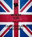 WOLES AJA KALO CARADHIGAMA PACARKU - Personalised Large Wall Decal