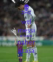 wtf messi ai fututo  naher acasa - Personalised Poster large