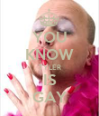 YOU KNOW TYLER IS GAY - Personalised Poster large