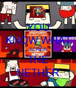 YOU KNOW WHAT SCREW THE NETHER - Personalised Poster large