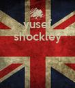 yusef shockley    - Personalised Poster large