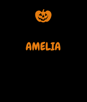 AMELIA    - Personalised Poster large