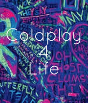Coldplay 4 Life - Personalised Poster large